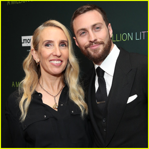 Aaron Taylor-Johnson & Wife Sam Step Out for 'A Million Little Pieces' Premiere