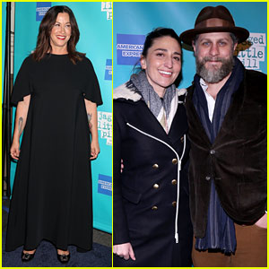 Alanis Morissette Gets Support from Sara Bareilles & More Stars at 'Jagged Little Pill' Broadway Opening!