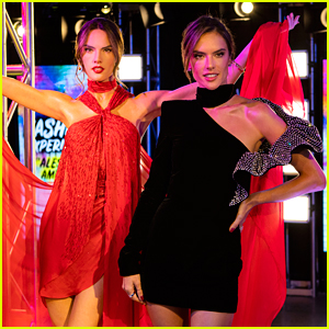 Alessandra Ambrosio Unveils Her New Wax Figure at Madame Tussauds in NYC