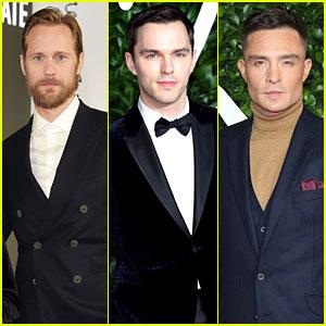 Alexander Skarsgard, Nicholas Hoult, & More Actors Look So Handsome at Fashion Awards 2019!