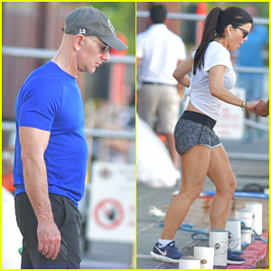 Amazon CEO Jeff Bezos & Girlfriend Lauren Sanchez Enjoy Holiday in St. Barts