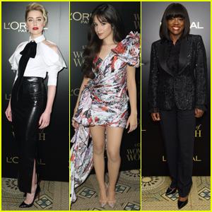Amber Heard, Camila Cabello, & Viola Davis Attend L'Oreal Paris Women Of Worth Awards 2019