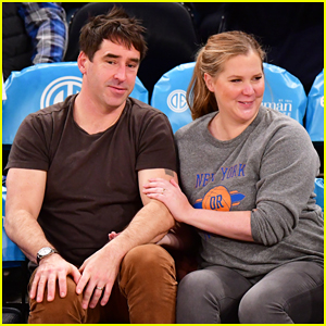 Amy Schumer & Husband Chris Fischer Have Date Night at Knicks Game in NYC!