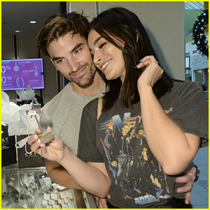'Bachelor' Couple Ashley Iaconetti & Jared Haibon Shop for Jewelry for Their First Christmas Together as Husband & Wife