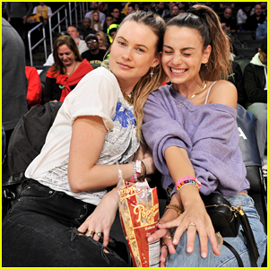 Behati Prinsloo Has Girls Night Out at Lakers Game!