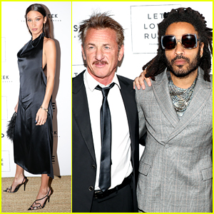 Sean Penn & Lenny Kravitz Team Up To Host Core x Let Love Rule Event at Art Basel 2019