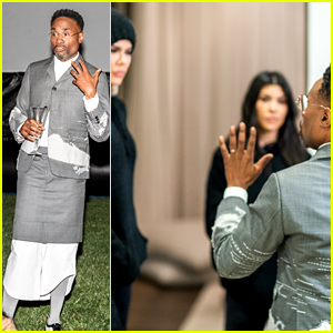 Billy Porter Joins the Kardashians for Special Screening of His Movie 'Like a Boss'