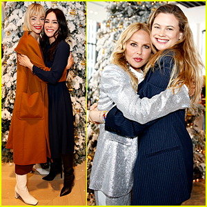 Behati Prinsloo, Jaime King, & More Stars Ring In the Holiday Season with Brooks Brothers