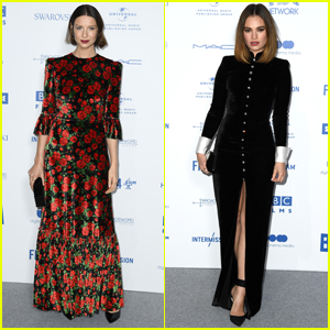 Caitriona Balfe & Lily James Go Glam for British Independent Film Awards 2019