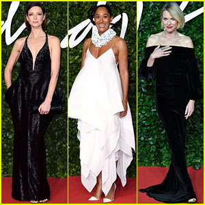 Caitriona Balfe, Tracee Ellis Ross, & Naomi Watts Glam Up for Fashion Awards 2019!