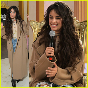 Camila Cabello Meets Fans at 'Romance' Pop-Up Experience in LA