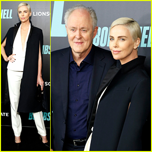 Charlize Theron Joins John Lithgow & More at 'Bombshell' NYC Screening!