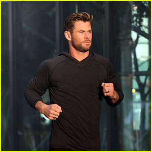 Chris Hemsworth Looks Hot Jogging for 'Hugo Boss' Commercial