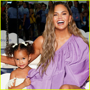 Chrissy Teigen Has Epic Response to Troll Telling Her to Cover Her Breasts In Front of Her Daughter