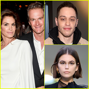 Kaia Gerber's Parents Are Reportedly Worried About Pete Davidson