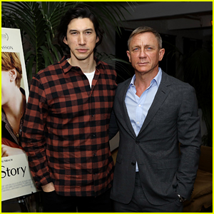 Daniel Craig Reunites with Adam Driver to Host 'Marriage Story' NYC Screening!