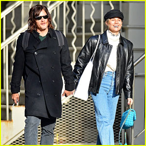 Diane Kruger & Norman Reedus Go Post-Christmas Shopping Together in NYC