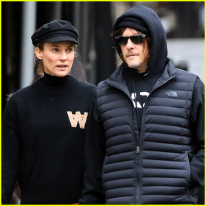 Norman Reedus & Diane Kruger Enjoy Their Holiday Downtime Together!