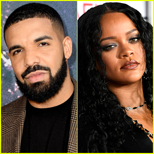 Drake Seemingly Speaks About Rihanna In New Interview Chris Brown Drake Rihanna Just Jared