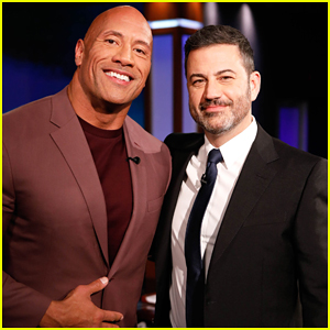 Dwayne Johnson Talks To 'Kimmel' About His 'Real Friendship' With Kevin Hart!
