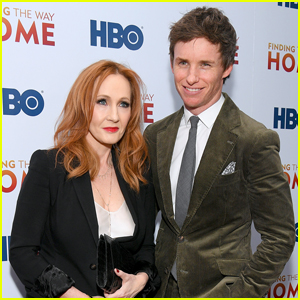 Eddie Redmayne Supports J.K. Rowling at 'Finding The Way Home' Premiere
