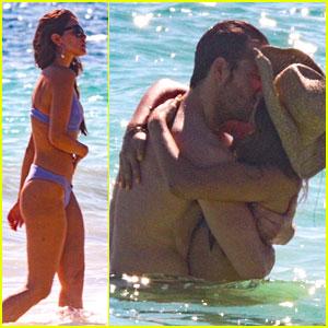 Eiza Gonzalez & Boyfriend Luke Bracey Bare Hot Bodies at the Beach in Mexico!