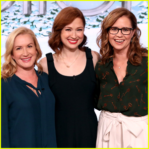 Ellie Kemper Discusses 'The Office' Reunion with Angela Kinsey & Jenna Fischer - Watch!