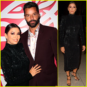 Eva Longoria & Ricky Martin Make Cute Comments About Their Friendship at Global Gift Gala in Miami