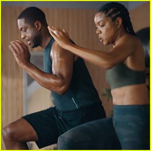 Gabrielle Union Motivates Husband Dwyane Wade in Gatorade Campaign (Video)