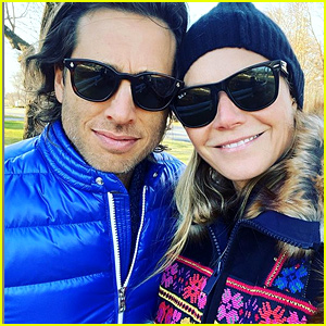 Gwyneth Paltrow & Husband Brad Falchuk Bundle Up in Cute Fall Selfie