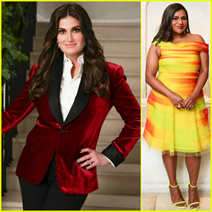 Idina Menzel, Mindy Kaling & More Get Festive at Polo Ralph Lauren Holiday Party!