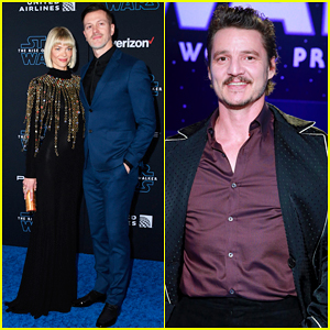 Jaime King & Kyle Newman Couple Up at Star-Studded 'Star Wars: The Rise of Skywalker' Premiere!