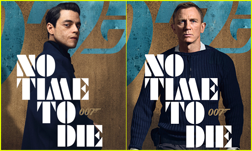 New No Time to Die Posters Showcase Bond and Rami Malek's Villain