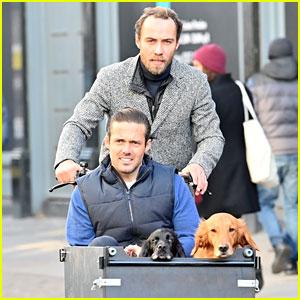 James Middleton Lets His Pal Spencer Matthews Ride in His Bike's Dog Basket!