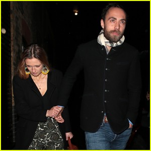 James Middleton & Fiancee Alizee Thevenet Hold Hands on Date Night in London