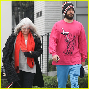 Jared Leto Enjoys Pre-Christmas Lunch with His Mom Constance!