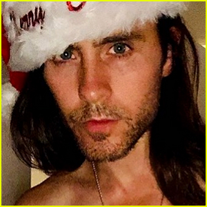 Jared Leto Posts a Hot Shirtless Photo for Christmas!