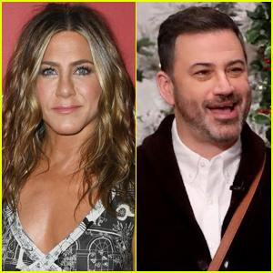 Jimmy Kimmel Tells All About Jennifer Aniston's Friendsgiving & Those Enchiladas