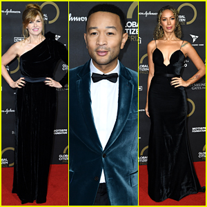 John Legend Suits Up & Joins Connie Britton, Leona Lewis & More For Global Citizen Prize 2019