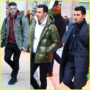 Jonas Brothers Head To Atlanta For Jingle Ball Tour Concert