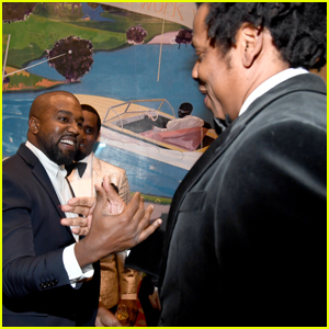 Kanye West & Jay-Z Reunite at Diddy's Birthday Party After Years of Feuding