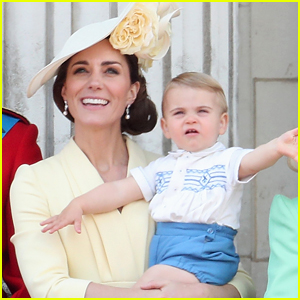 Duchess Kate Middleton Says Prince Louis Is Talking & Reveals the Word He Keeps Repeating!