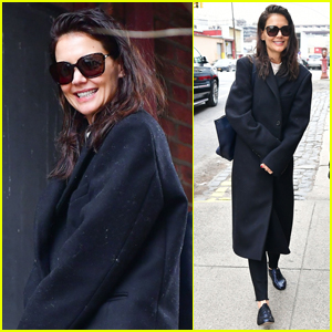 Katie Holmes is All Smiles During Day Out in NYC