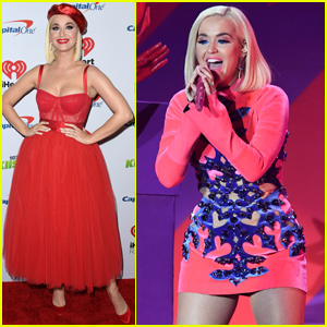 Katy Perry Gets Into The Holiday Spirit at Jingle Ball Tour in Los Angeles