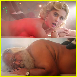 Katy Perry Strips Down with Santa in Her 'Cozy Little Christmas' Video - Watch Now!
