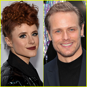 This Singer Just Realized Sam Heughan Is Her Doppelganger!