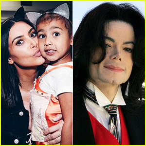 Kim Kardashian Gets North West Even More Michael Jackson Memorabilia for Christmas!