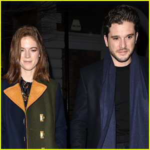 Kit Harington & Rose Leslie Do Date Night in Rare Photos Together!