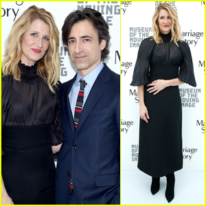 Laura Dern & Noah Baumbach Celebrate 'Marriage Story' at Museum of Moving Image Awards 2019