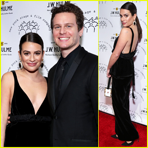 Lea Michele & Jonathan Groff Buddy Up for New York Stage & Film Winter Gala 2019!